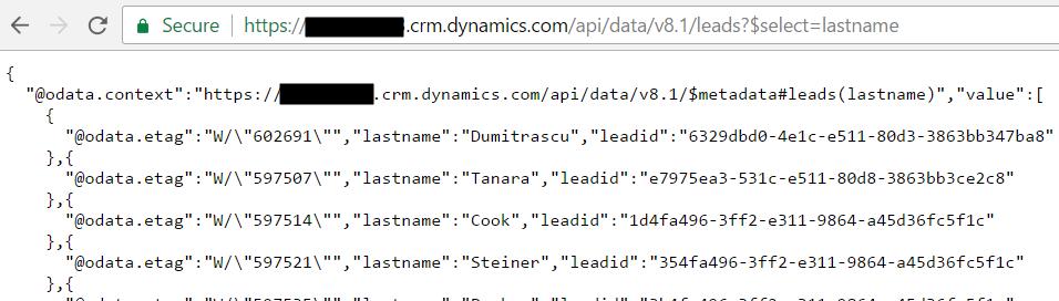 Query Dynamics CRM through JavaScript with WebAPI - Carl de Souza