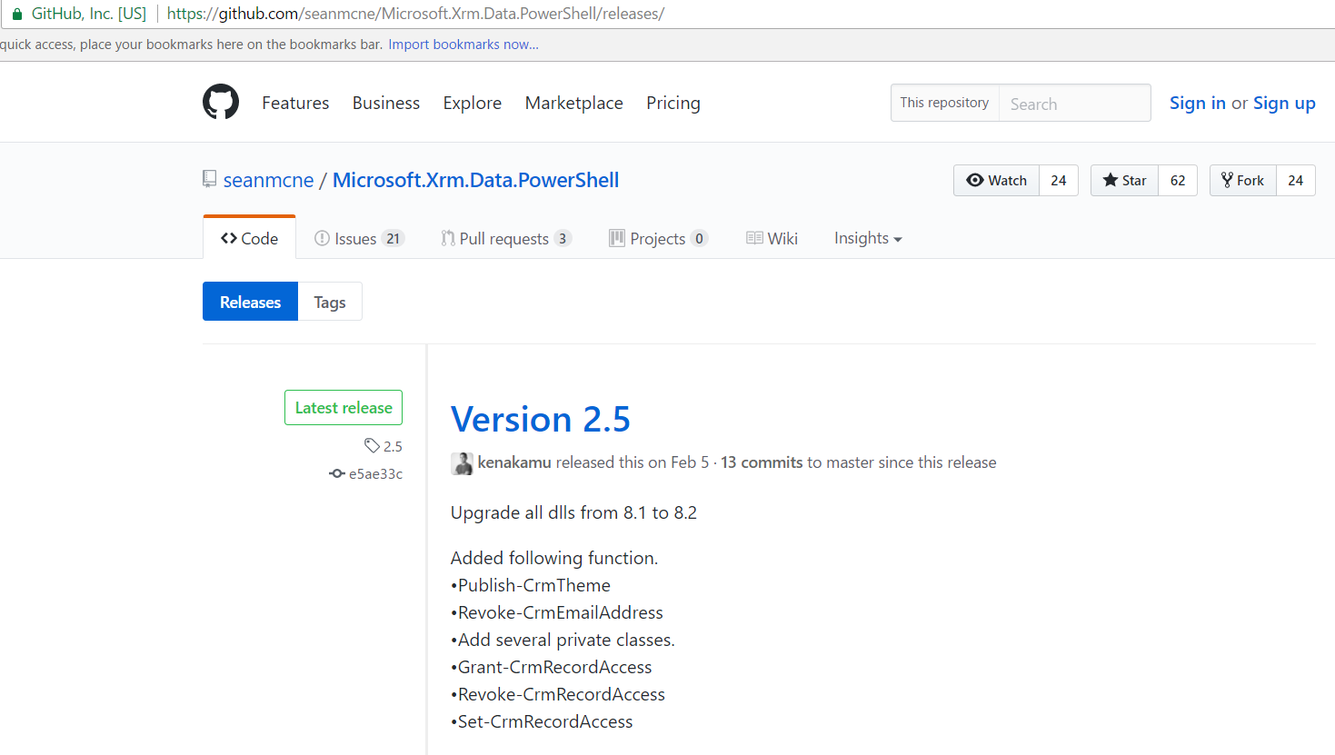 Dynamics 365 PowerShell - Microsoft Xrm Data Powershell