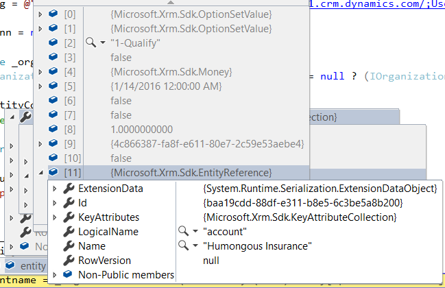 Dynamics 365 Using EntityReference to Get Name from Id