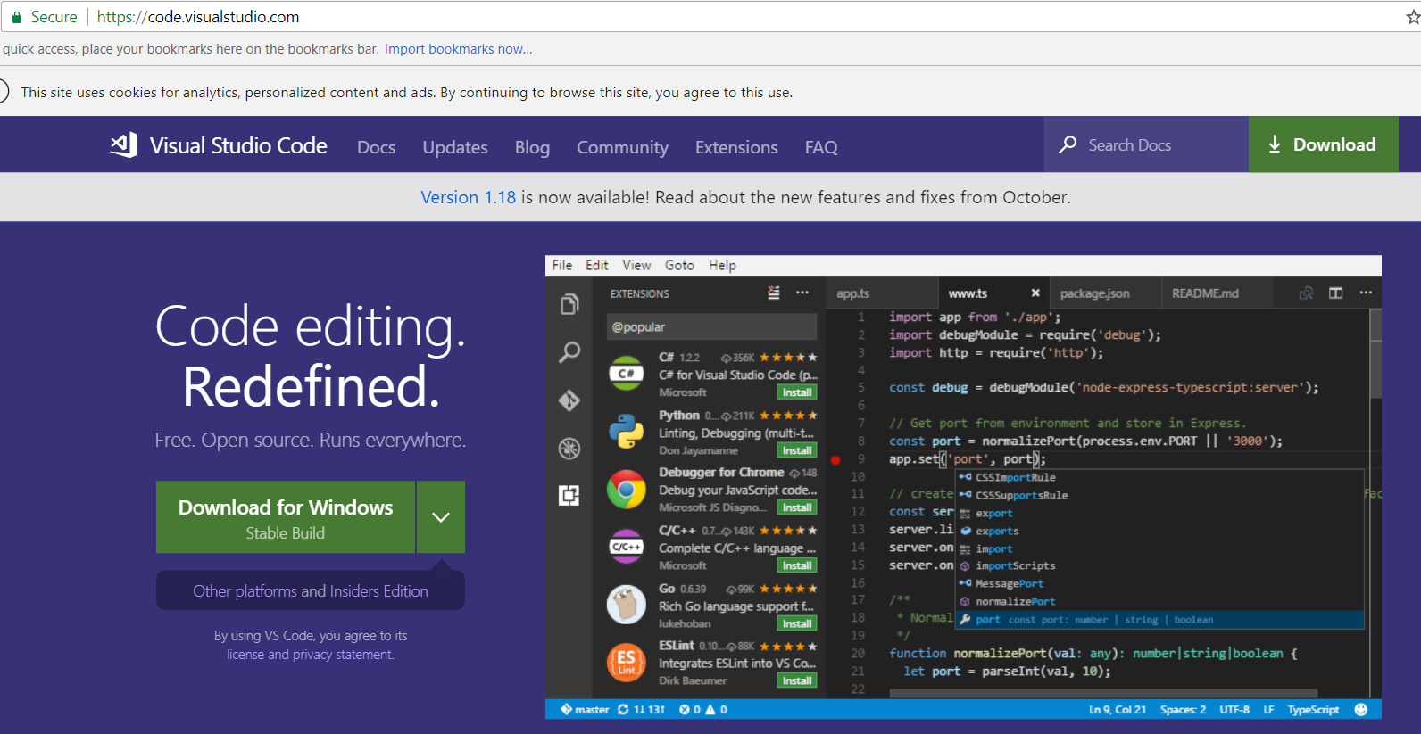 Visual Studio Code Introduction - Carl de Souza