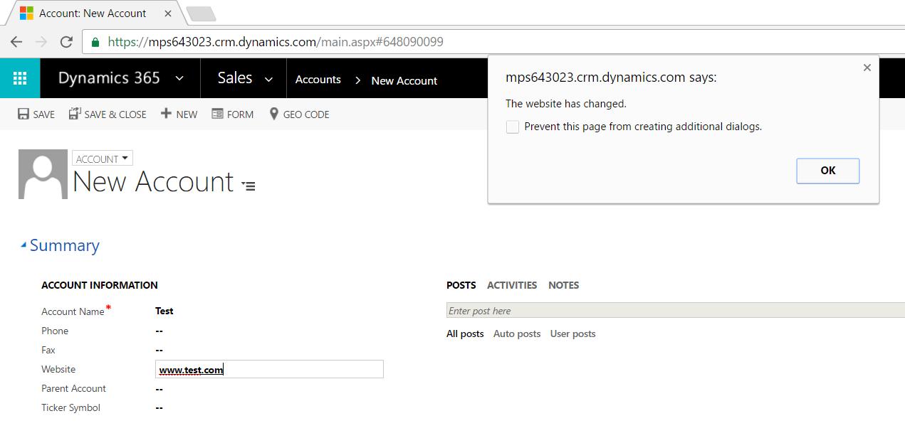 Dynamics CRM Creating and Debugging JavaScript Code - Carl de Souza