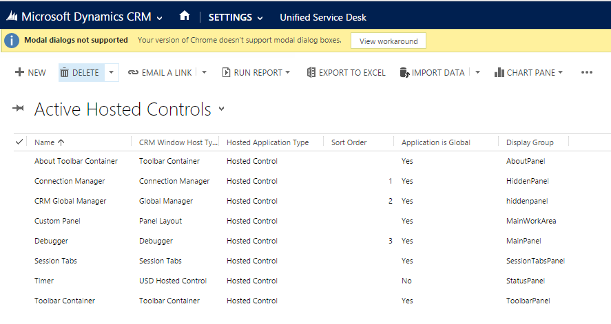 Clicking On Hosted Controls, You Can See A List Of The Out Of The Box  Hosted Controls: