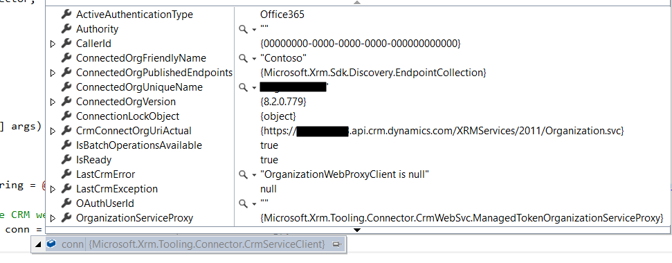 Connecting to Dynamics 365 using CrmServiceClient - Carl de