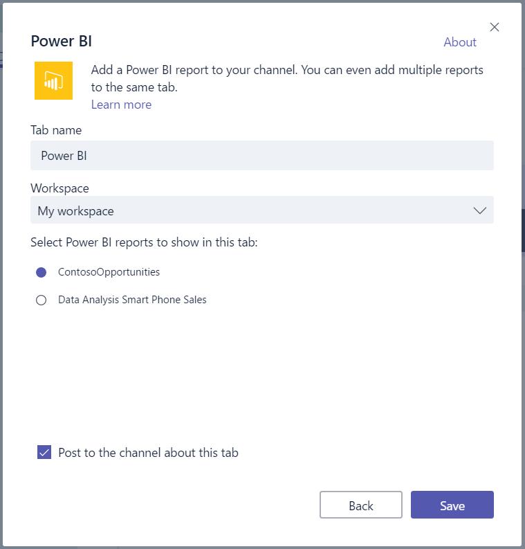 Adding Power BI to Microsoft Teams - Carl de Souza
