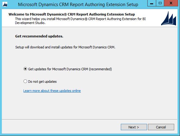 Installing Dynamics CRM Report Authoring Extensions - Carl de Souza