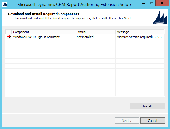 Installing Dynamics CRM Report Authoring Extensions - Carl