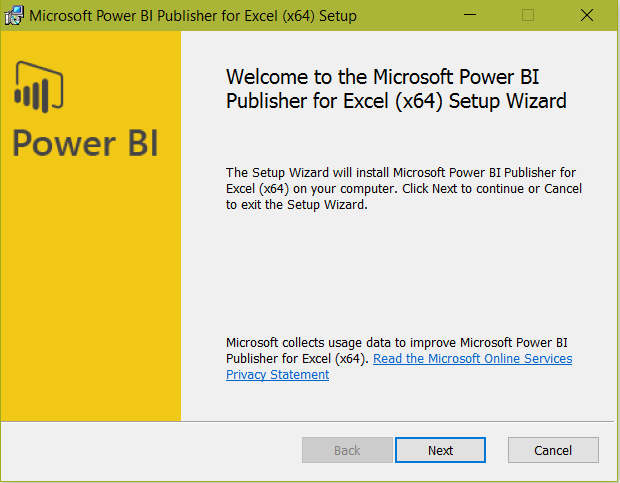 Power BI Publisher for Excel - Carl de Souza