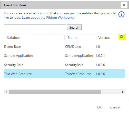 Open HTML Page from Button with Ribbon Workbench - Carl de Souza