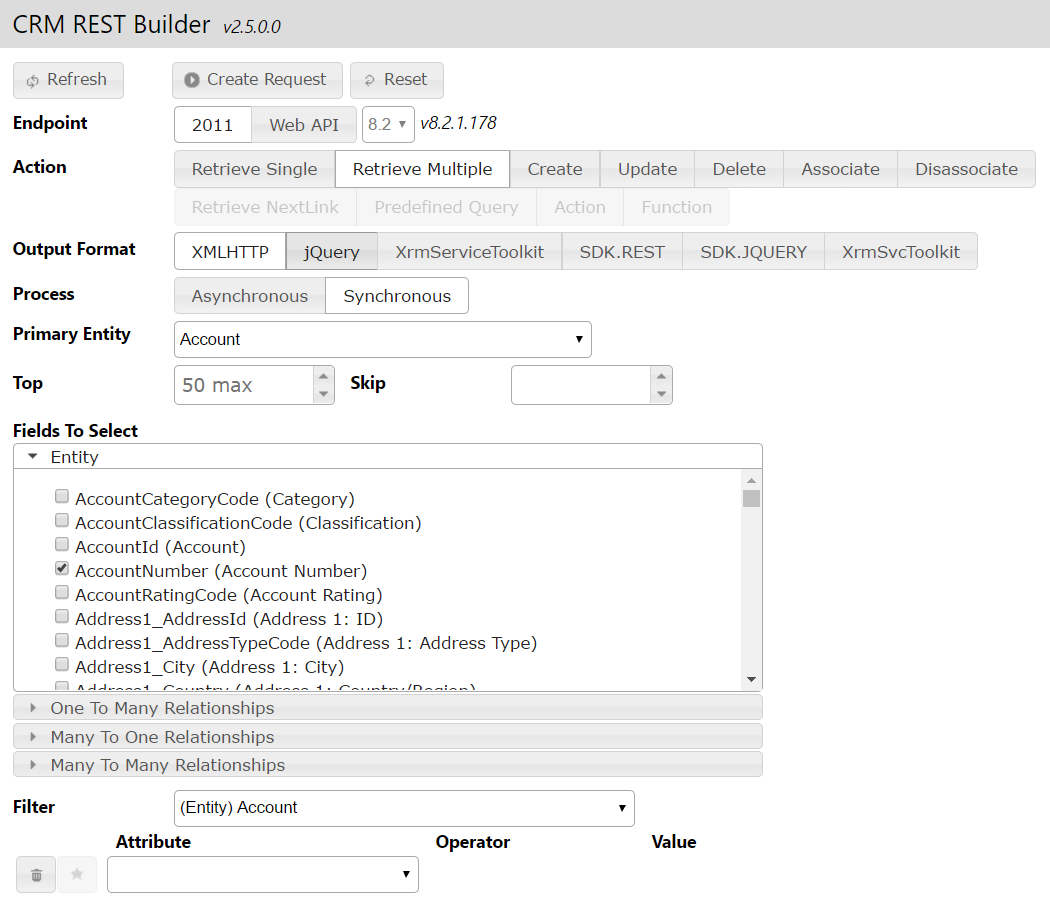 Dynamics CRM REST Builder - Carl de Souza