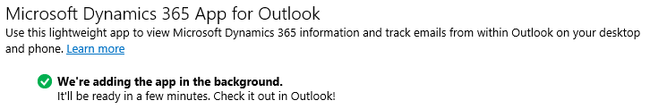 Dynamics 365 Apps for Office 365 and Desktop Outlook - Carl