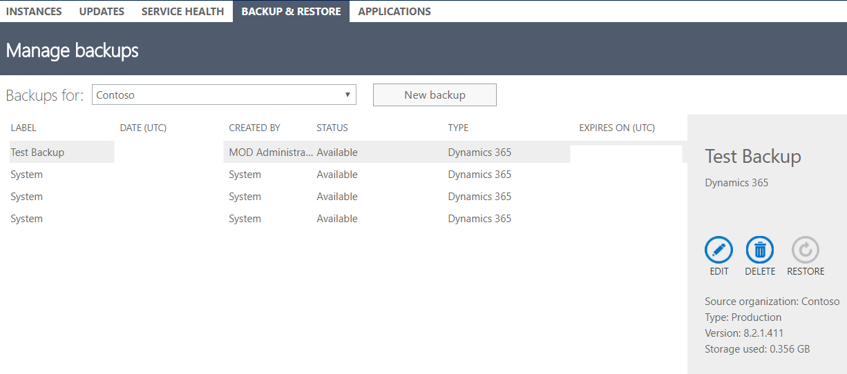 Backup and Restore Dynamics 365 Databases - Carl de Souza