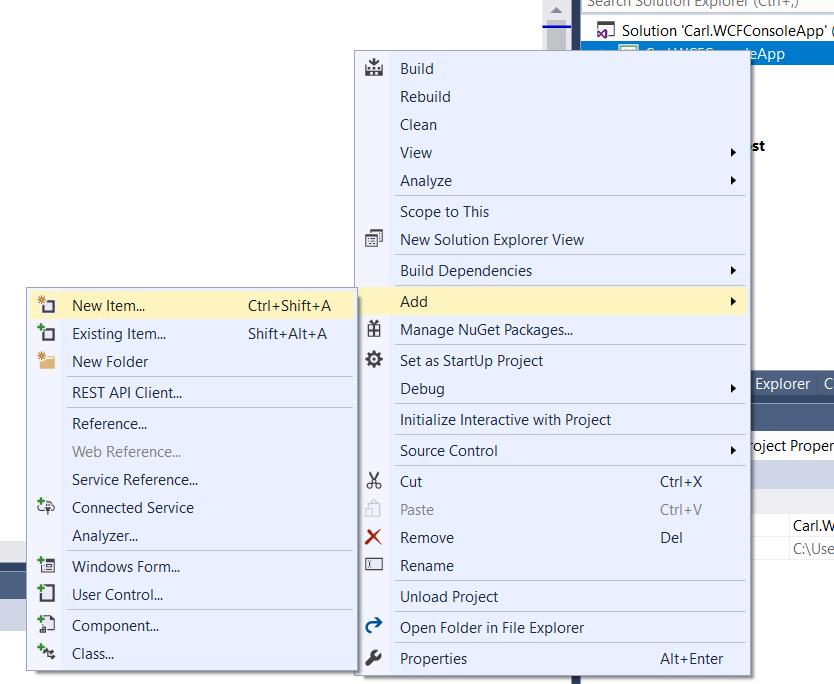 Self-Hosting a WCF Service in a Windows Console App - Carl