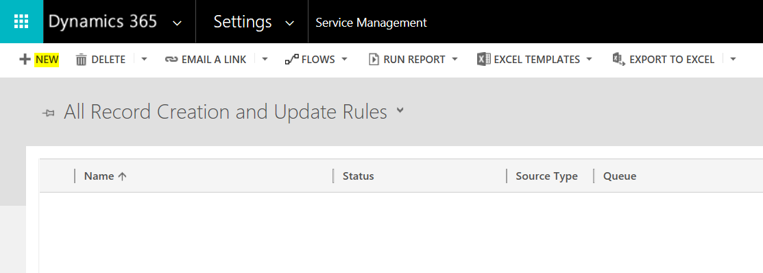 Dynamics 365 Record Creation and Update Rules to Convert