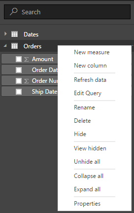 Power BI and DAX - USERELATIONSHIP to work with Multiple Dates