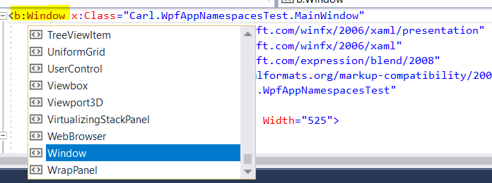 Understanding WPF Namespaces - Carl de Souza