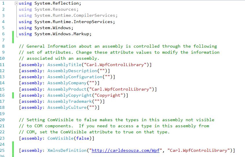 Understanding WPF Namespaces - Carl de Souza