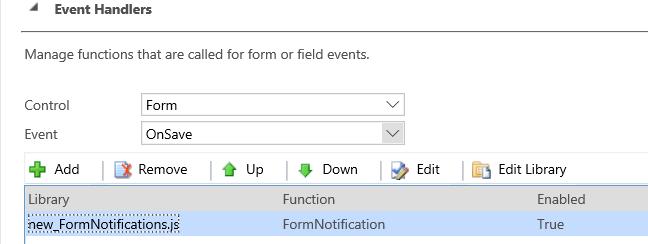 Dynamics 365 Form Notifications in JavaScript - Carl de Souza