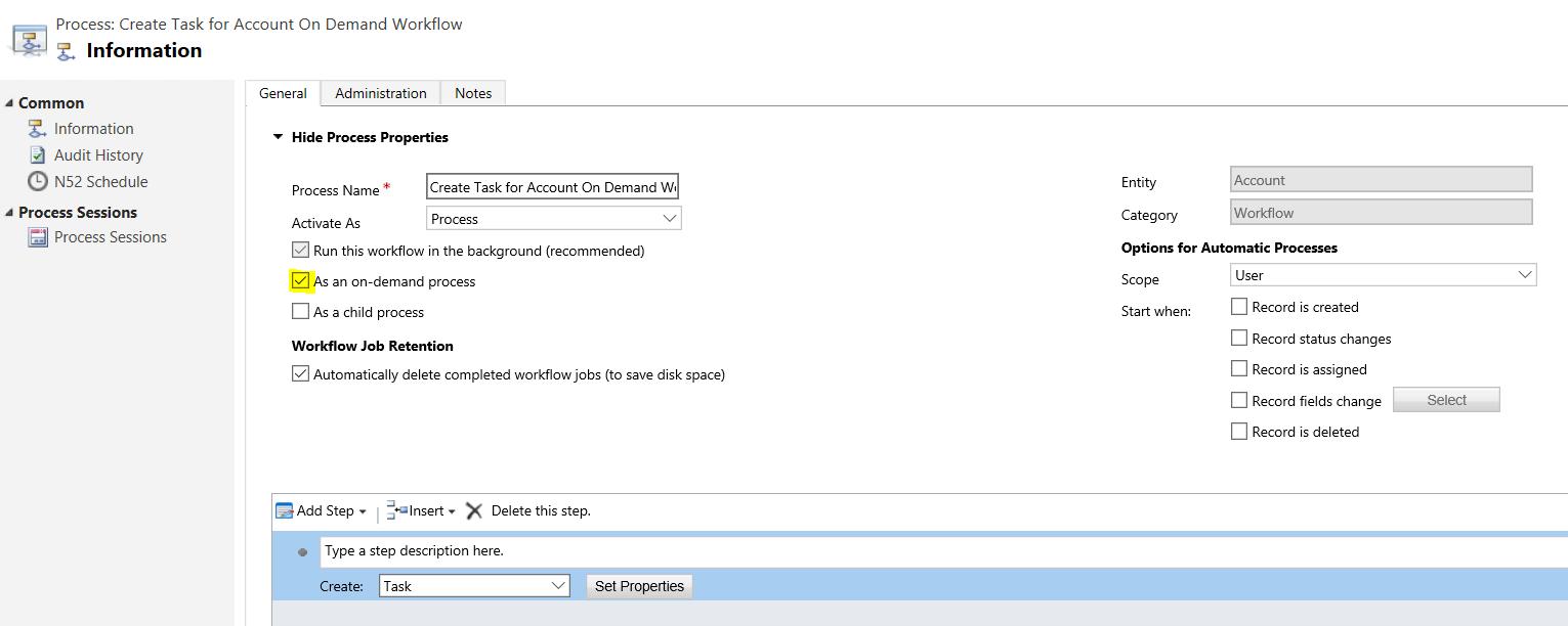 Calling a Dynamics 365 Workflow through JavaScript - Carl de Souza
