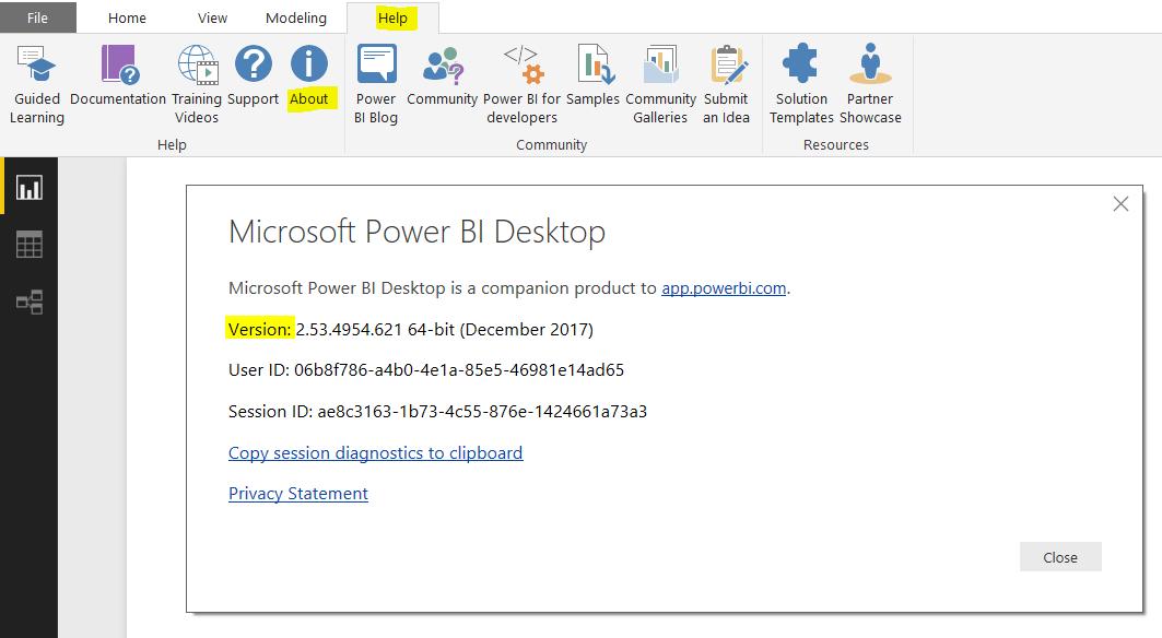 Finding the Power BI Desktop Version - Carl de Souza