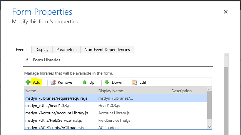 Dynamics 365 - Running JavaScript on Activate and Deactivate - Carl