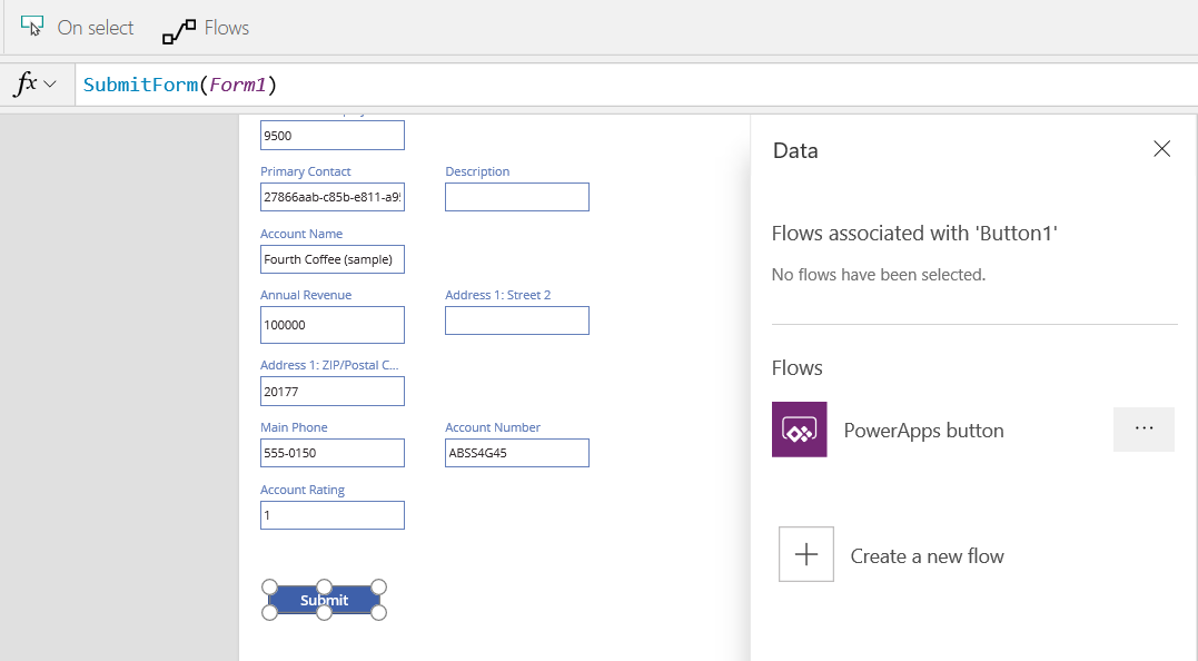 PowerApps Part 4 – Adding a Flow to an App - Carl de Souza