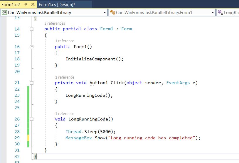 C# - Task Parallel Library - Carl de Souza