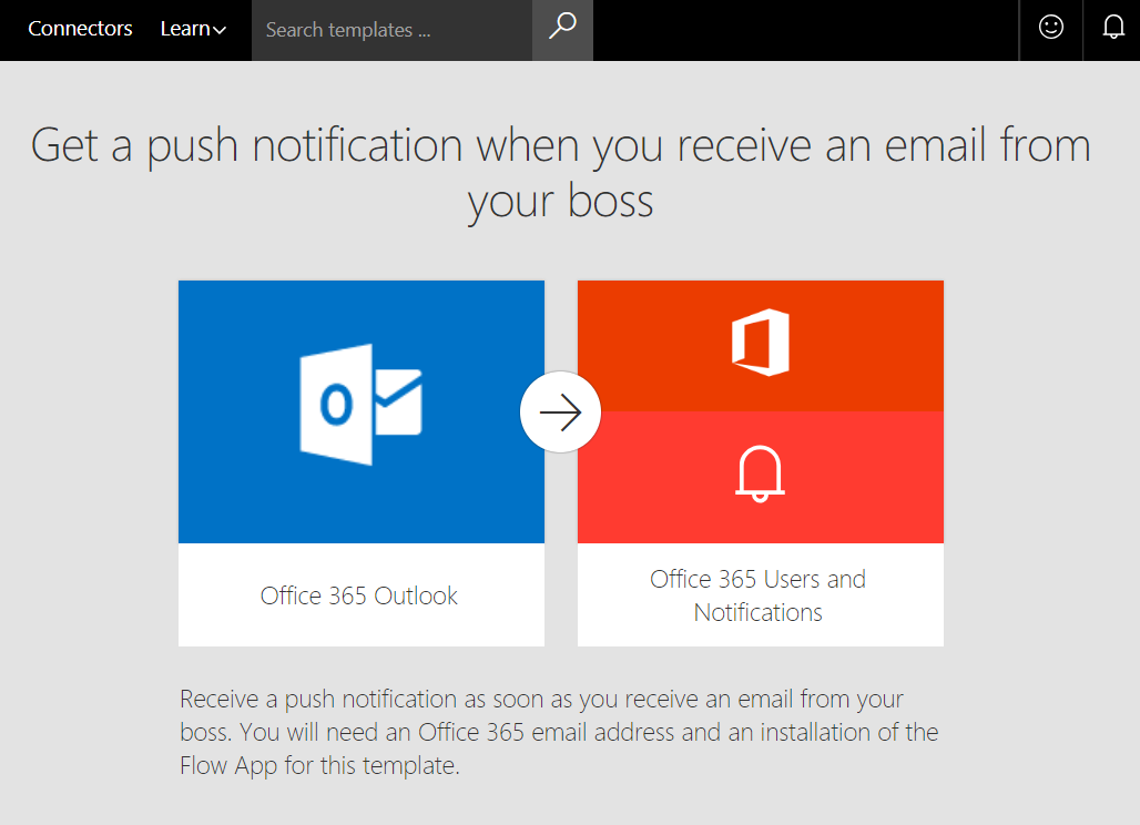 Flow - Get a Push Notification when your Boss sends you an