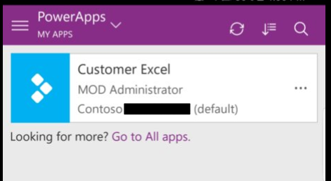 Create a Mobile App from an Excel Workbook with PowerApps - Carl de