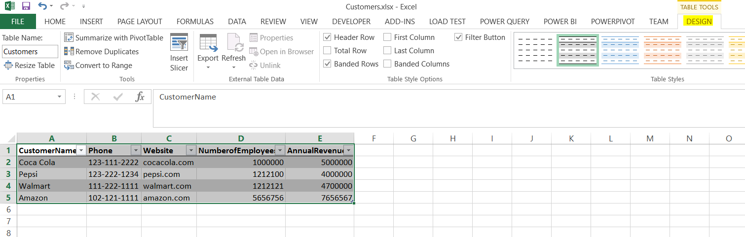 Create a Mobile App from an Excel Workbook with PowerApps