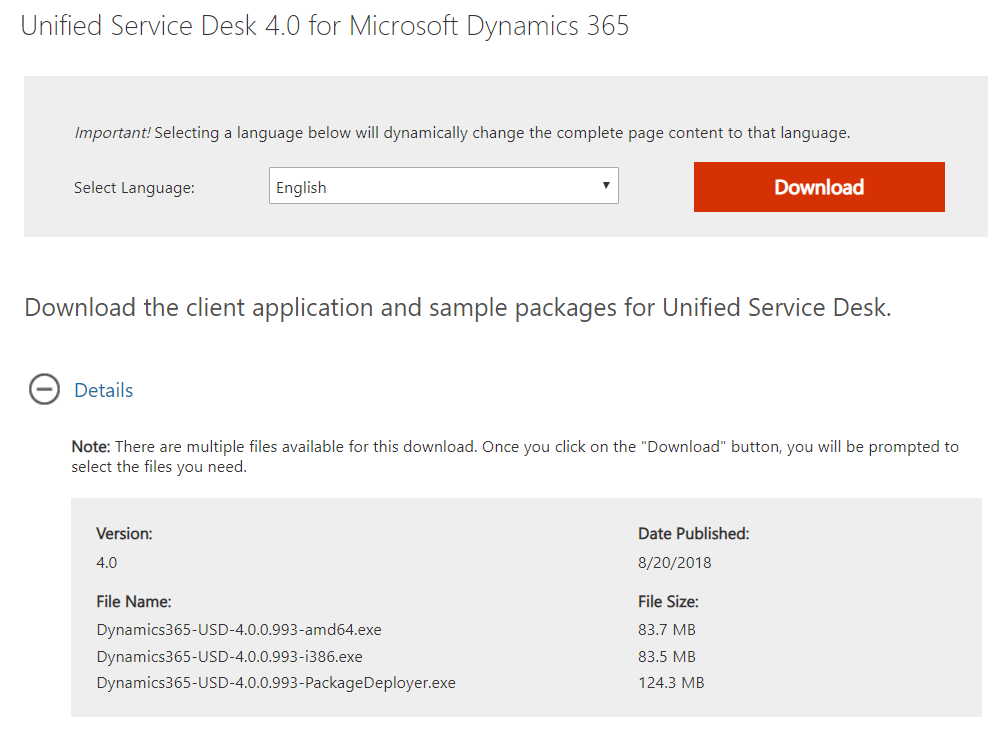 download unified service desk 4.1