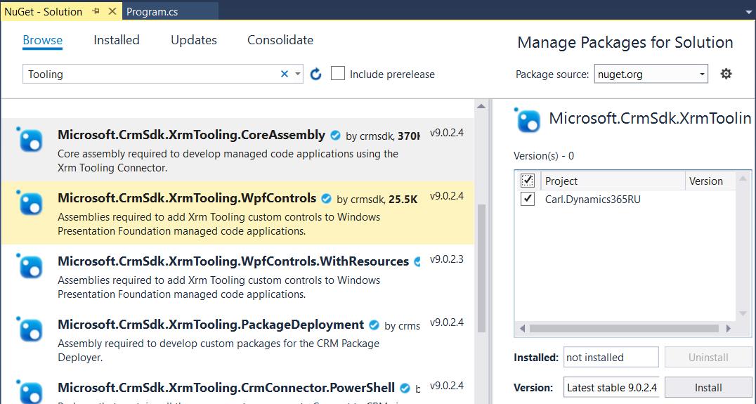 Dynamics 365 Retrieve and Update using C# - Carl de Souza