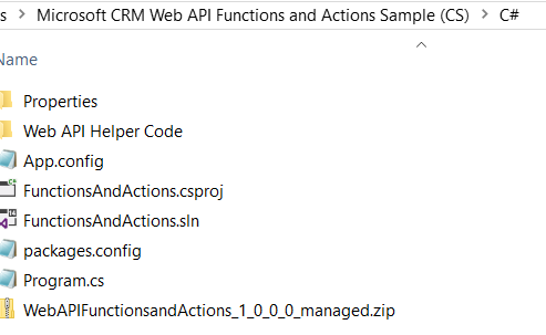 Dynamics 365 WebAPI and C# - Configuring Sample Code - Carl