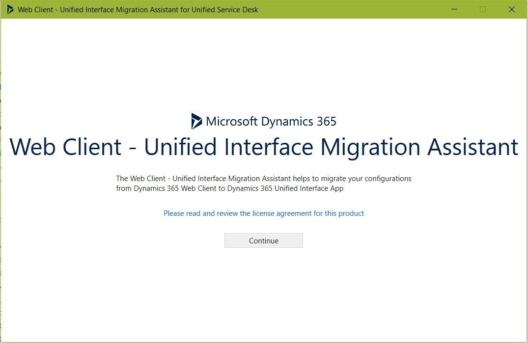 Migrate USD from Web Client to Unified Interface with