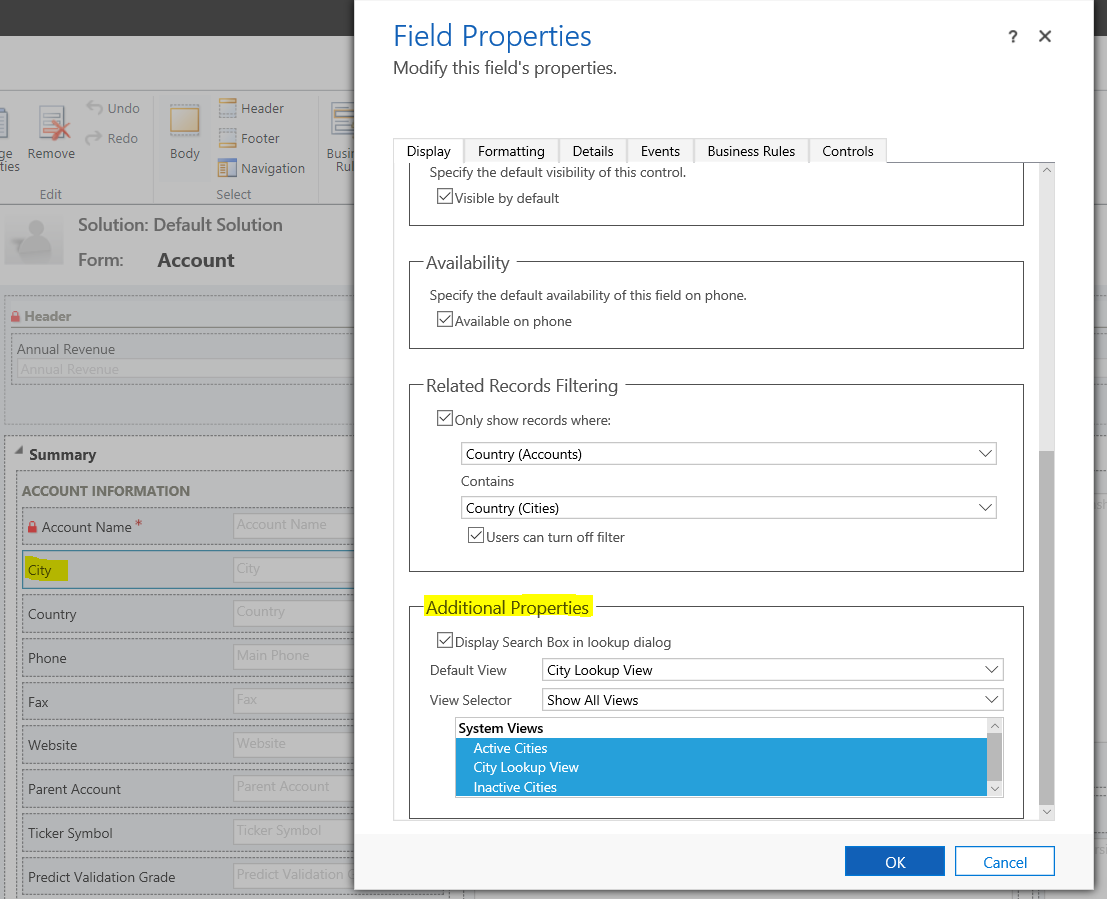 Filtering Lookup Fields in Dynamics 365 - Carl de Souza