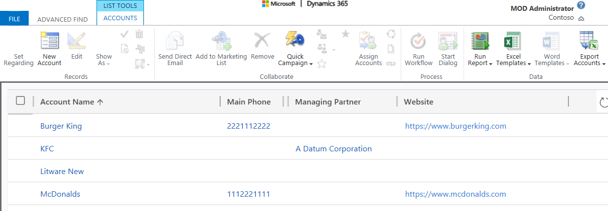Updating Dynamics 365 Records using Export and Import with