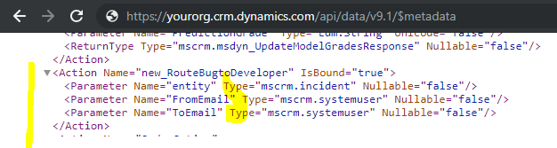 Calling a Dynamics 365 Action from JavaScript using Xrm