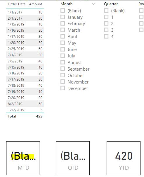 Powerbi Date To Quarter
