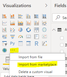 Running an R Visualization from the Marketplace in Power BI